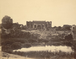 [Unidentified mosque (?), Bijapur.]